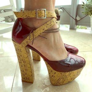 Platform strapy heel 💎